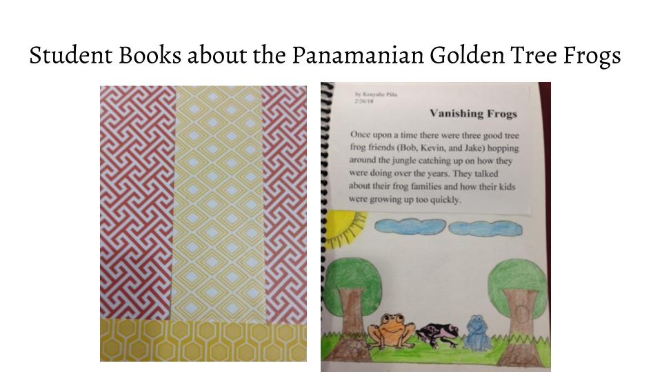 Students create books to read to elementary school students