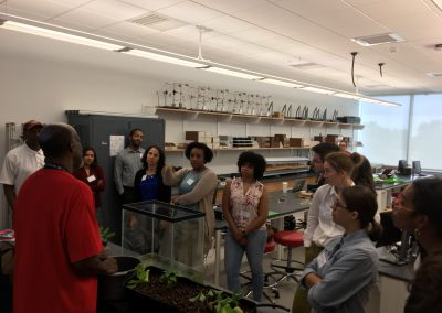Learning how to teach students about aquaponics